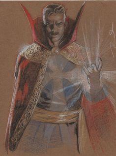 Doctor Strange by Gerald Parel