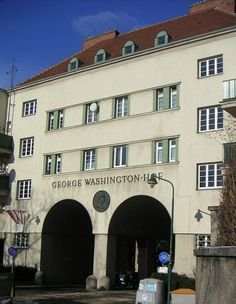 Vienna Georg Washington Hof George Washington, Most Beautiful Pictures, Cities, Mansions, House Styles, Red, Home, Vienna, Manor Houses