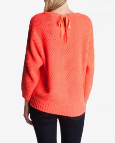 Tuck stitch jumper - Bright Red | Knitwear | Ted Baker UK