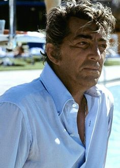 Dean Martin, great actor, great singer. All around funny guy and entertainer!