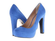 $250 Pour La Victoire Women Leather Suede Erina Blue Teal Platform Pump Shoes, 8 #PourLaVictoire #PumpsClassics