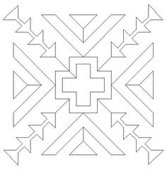 Southwest style. Embroidery pattern?