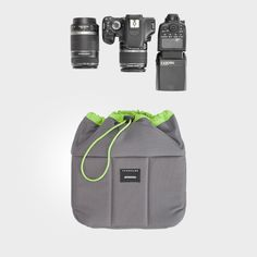 PreOrder Camera Bag Insert - 2 Lens Sleeves - Custom Sizes & Color ...