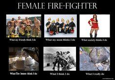 funny firefighter cartoon pictures | ... artist & Female Firefighter ) « Balnacra Arts by Vicky Stonebridge