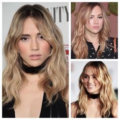 Here's a sexy bang from Suki Waterhouse. Learn how to steal it.