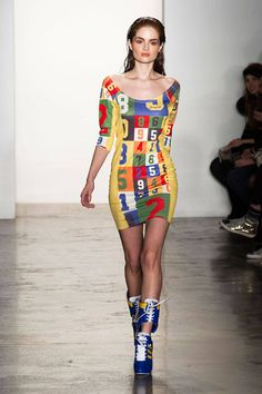 Jeremy Scott Fall 2014 Ready-to-Wear Collection