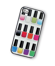 Nail Polish Rainbow iPhone Hard Case, fits iPhone. #onlineshopping #iPhone #blisslist Buy it on BlissList: https://itunes.apple.com/us/app/blisslist-easy-shopping-gifting/id667837070