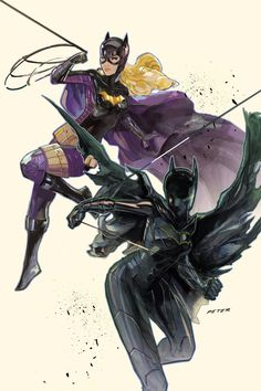 Batgirl bestest by Peter-v-Nguyen.deviantart.com on @deviantART
