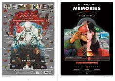 'MEMORIES' movie POSTERS by OTOMO KATSUHIRO (1996)