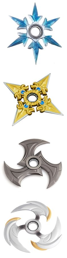 These are some of the coolest fidget spinners I've seen!!! U put ur finger in the middle of it and give it a spin!!! :D