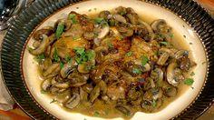 the chew | Recipe  | Michael Symon's Chicken Marsala