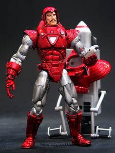 Marvel Legends Series 7 Silver Centurian Iron Man // Pinned by: Marvelicious Toys - The Marvel Universe Toy & Collectibles Podcast [ m a r v e l i c i o u s t o y s . c o m ]