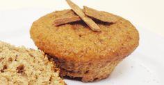 Fantástico! Muffin de banana e canela zero calorias - #