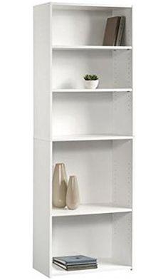 Sauder Beginnings Bookcase Soft White Best Price