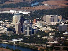Sacramento - An Aerial View