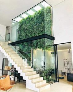 [New] The 10 Best Home Decor (with Pictures) - ( Amazing vertical garden What do you think ? Designed by: Marcelo Navarro Arquitetura . 𝙁𝙤𝙧 𝙢𝙤𝙧𝙚 𝙛𝙤𝙡𝙡𝙤𝙬 . Architecture Design, Green Architecture, California Architecture, Design Exterior, Interior And Exterior, Dream Home Design, Modern House Design, Atrium Design, Interior Garden