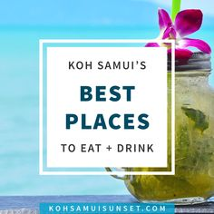 Where to Eat on Koh Samui? The Best Thai Food, Breakfast, Lunch and Dinner in Koh Samui, Thailand: Everything you need to know about where to eat on Koh Samui – whether you want Thai food, seafood, burgers, Indian, or a romantic sunset beach dinner. Click through to read more: http://www.kohsamuisunset.com/where-to-eat-on-koh-samui/