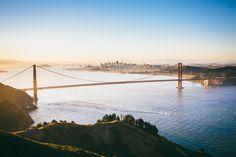 Sunrise in San Francisco from Hawk Hill by @tony-pham #sanfrancisco #sf