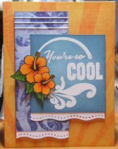 Mojo Monday card by Cassie_Lu using Verve Stamps.