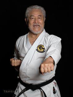 Koei Teruya, 10th dan Goju-ryu karate