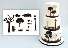 Patchwork Cutters Silhouette Countryside Set