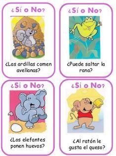 Trivial: tarjetas Acertando Preschool Spanish, Speech Therapy, Homework, Ideas Para, Winnie The Pooh, Language, Activities, Education, Comics