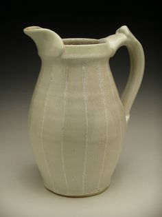 Nicholas Seidner Pitcher 2012 Wood and salt fired stoneware