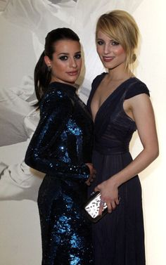 Lea Michele & Dianna Agron...the Glee girls!