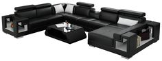 Ello Leather Sectional