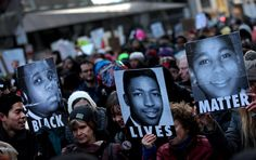 More than 25,000 people marched through Manhattan on Saturday, police officials said, in the largest protest in New York City since a grand jury declined this month to indict an officer in the death of an unarmed black man on Staten Island. www.blacklives.info