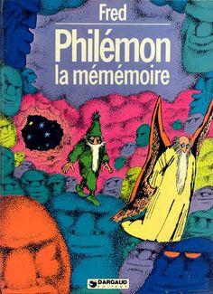 """""""La Mémémoire"""", de Fred, dans la série des Philémon."""