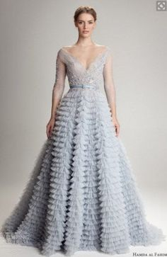 Bleu robe de mariée robe bleu ciel robe de par AnnaSkoblikova