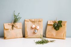 10 new ideas for gift wrap – no paper required! on domino.com