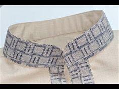 How to sew single welt pant pocket - YouTube