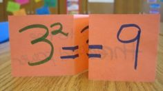 Exponent foldables...perfect for when my kids get to this!