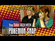 We have an Epic-Sized Co-Optitude today to celebrate #GeekWeek on YouTube! POKEMON SNAP! Ryon and I have no idea what Pokemon is or how this game works. But my dog Cubby is in it, so it might be the best video ever made, hehe.