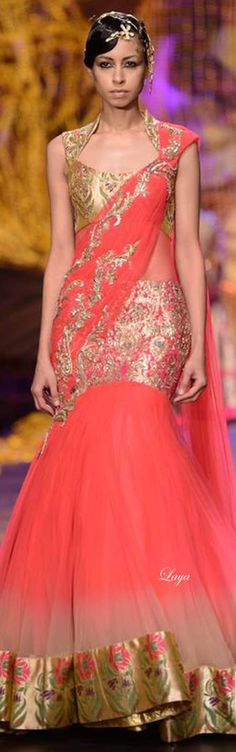 Gaurav Gupta Indian Bridal Week Nov 2013❋Laya