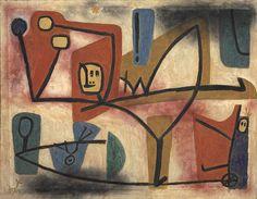 Paul Klee – Übermut Exubérance, 1939
