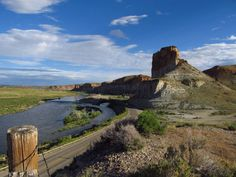 15. Castle Rock And Green River