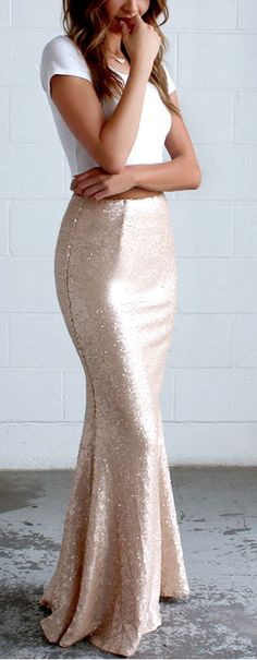 blush sequin maxi dress