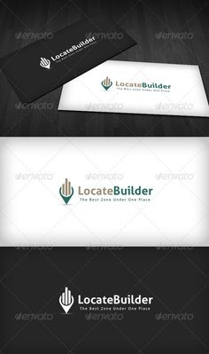 Locate Builder Logo  #GraphicRiver         Locate Builder Logo is a designed for Any types of companies. It is made by simple shapes Although looks very professional. The final file includes 3 variations of the Logo.  Featured: 	 	 Unique Slogan 		 AI CS3 Document 		 EPS CS Document 		 CMYK – 100 % Vector (Re-sizable) 		 3 Variations (Color, B/W & Inverts) 	  	 The free fonts used in the design are: Aller  Which can be downloaded here -  .fontsquirrel /fonts/Aller     Created: 30July12…