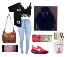 """""""1/7/15"""" by radchills ❤ liked on Polyvore featuring Jack Spade, Cameo Rose, RockSmith, Wet Seal and NIKE"""