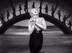 """Joan Blondell singing """"Remember My Forgotten Man"""" at the finale of Gold Diggers of 1933  (Mervyn LeRoy, 1933), one of the greatest songs to come out of the Depression"""