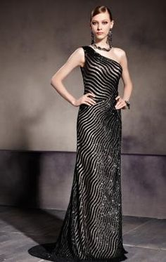 Pretty Long Black In Stock Evening Prom Dress (LFYBD0033) http://www.marieprom.co.uk/evening-dresses-uk