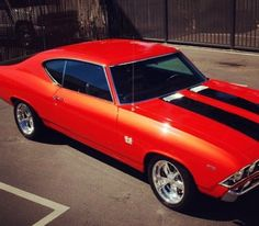 69 Chevelle- My dream car since I was a kid