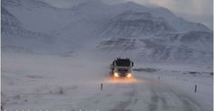 Manoeuvring through snow drifts