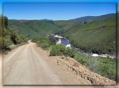 Views of the Kouga river from the trail en route to Baviaans Kloof Travel Info, Rivers, Trail, Africa, Country Roads, Nature, Beautiful, Naturaleza, River
