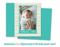 Digital Project Life Baby Book! Full of great layout ideas.