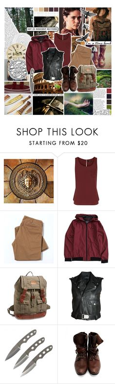 """""""District 2: Clove"""" by saffire9975 ❤ liked on Polyvore featuring Sarah Jessica Parker, Oasis, Electric, Lucky Brand, Diesel Black Gold, John Fluevog and Seed Design"""