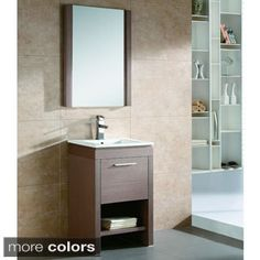 Shop for Fine Fixtures Modena 24-inch Mirror and more for everyday discount prices at Overstock.com - Your Online Furniture Store!